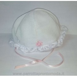Cappellino neonata MARY'S BABY art. Cuore