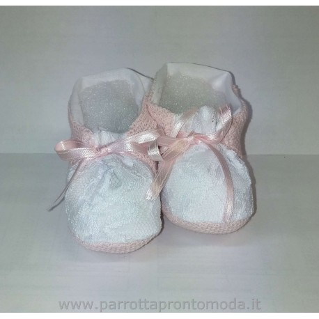 Scarpette neonata MARY'S BABY art. Cuore