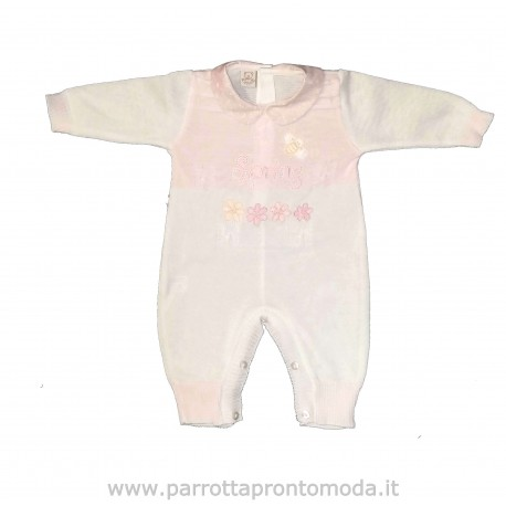 Tutina neonata Spring L'ORSETTO art. 4025