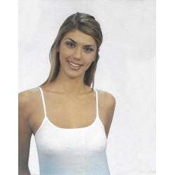 Camiciola donna spallina stretta conf. 6 pezzi LEABLE art. 1403
