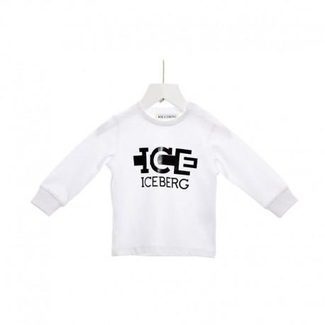 T-Shirt bambino con stampa ICEBERG art. TSICE117BM