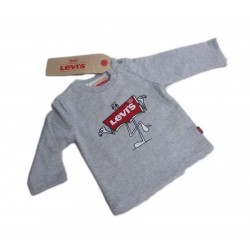 T-Shirt bambino manica lunga con stampa LEVI'S art. NK 10014