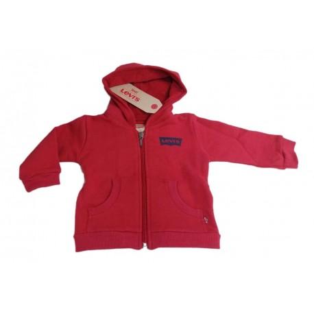 Gilet neonato con cappuccio e zip LEVI'S art. N91700H