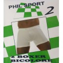 Boxer uomo bicolore 2 pezzi ARIS