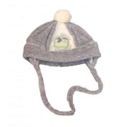 Cappellino neonato in ciniglia ELE BABY art. 18217