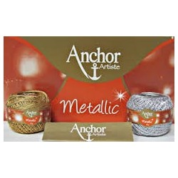 Filato da uncinetto ANCHOR ARTISTE METALLIC art. 4716