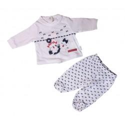 Completo clinica in jersey femminuccia PASTELLO art. CJ6O