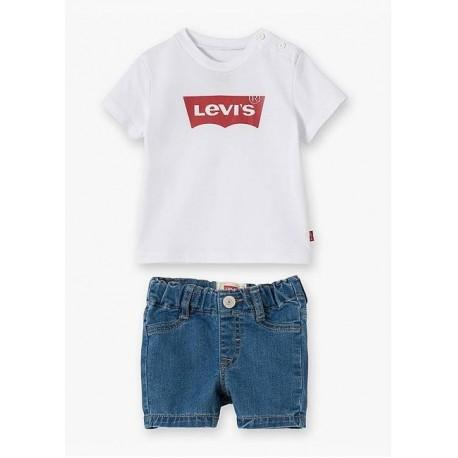Completo corto neonato LEVI'S art. NL37004