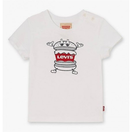 T-shirt neonato con stampa LEVI'S art. NL10064