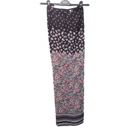 Pantalone palazzo donna con baschina interna KAJAL art. 9713/FD