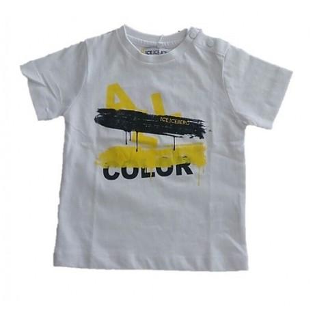 T-shirt bambino con stampa ICEBERG art. TSICE009BM