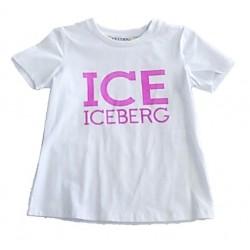 T-shirt bambina con stampa ICEBERG art. TSICE013BF