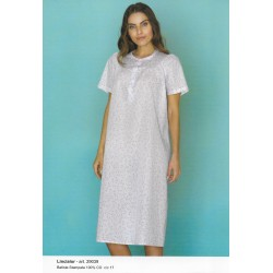 Camicia da notte raglan con stampa LINCLALOR art. 29039