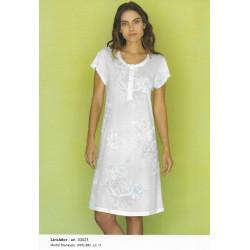 Camicia da notte con stampa LINCLALOR art. 03021