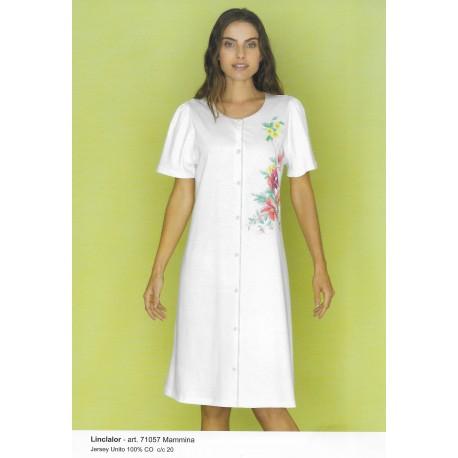 Camicia notte raglan con stampa LINCLALOR art. 71057
