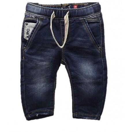Jeans neonato con elastico ASPEN POLO CLUB art. 1071D0108