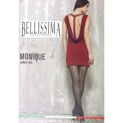 Collant donna velato con tassello BELLISSIMA art. MONIQUE