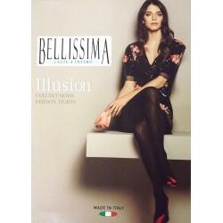 Collant donna con stampa glitter BELLISSIMA art. ILLUSION