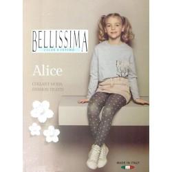 Collant bambina con stampa BELLISSIMA art. ALICE
