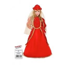 Costume di carnevale Contessina Lucrezia in velluto CARNEVALE VENEZIANO art. 1031