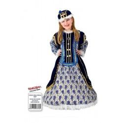 Costume di carnevale Principessa di Edimburgo CARNEVALE VENEZIANO art. 1027