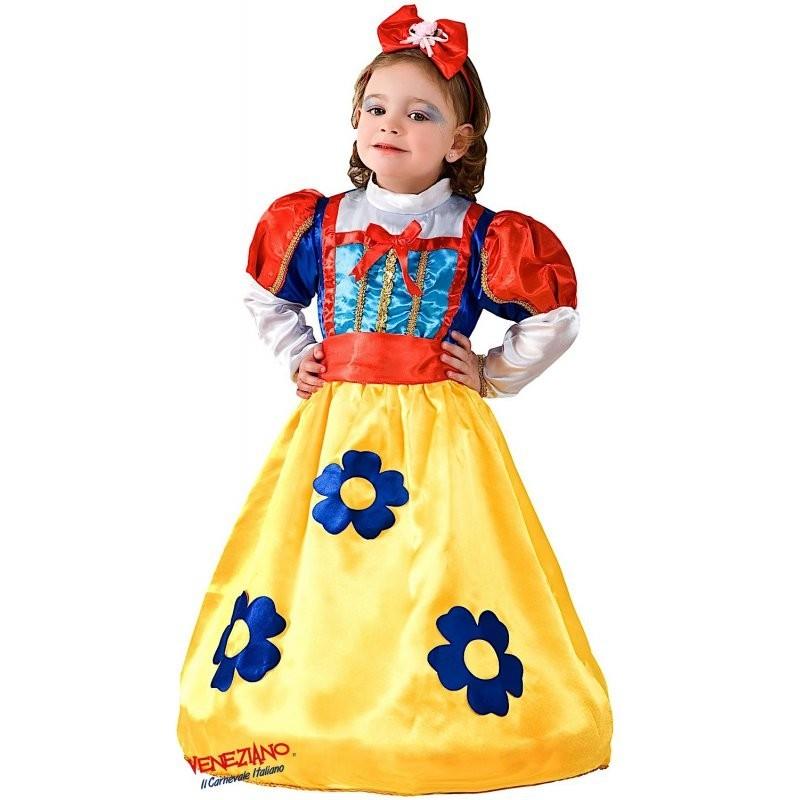 Costume da biancaneve principessa del bosco