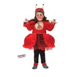 Costume di carnevale Magica coccinella CARNEVALE VENEZIANO art. 8938