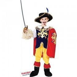Costume di carnevale D'artagnan baby CARNEVALE VENEZIANO art. 8904