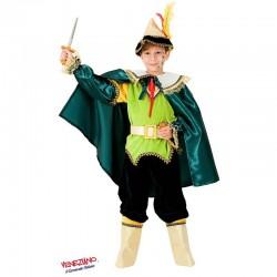Costume di carnevale Principe dei boschi CARNEVALE VENEZIANO art. 8892