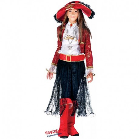 Costume di carnevale Lady corsara CARNEVALE VENEZIANO art. 3862