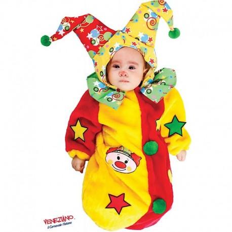 Costume di carnevale Saccottino pagliaccetto CARNEVALE VENEZIANO art. 3591