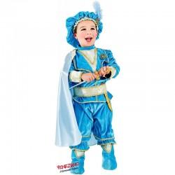 Costume di carnevale Principino azzurro in velluto CARNEVALE VENEZIANO art. 2310