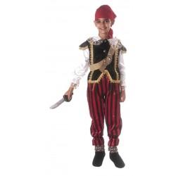 Costume di carnevale Pirata IL GIULLARE art. 01