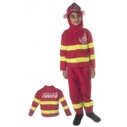 Costume di carnevale Pompiere IL GIULLARE art. 08