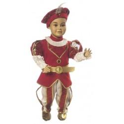 Costume di carnevale Piccolo Re IL GIULLARE art. 014