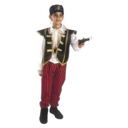 Costume di carnevale Pirata lusso IL GIULLARE art. 023