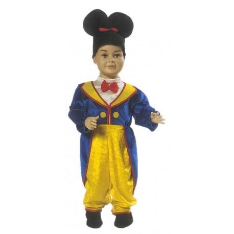 Costume di carnevale Piccolo topolino IL GIULLARE art. 038