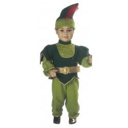 Costume di carnevale Peter pan baby IL GIULLARE art. 040
