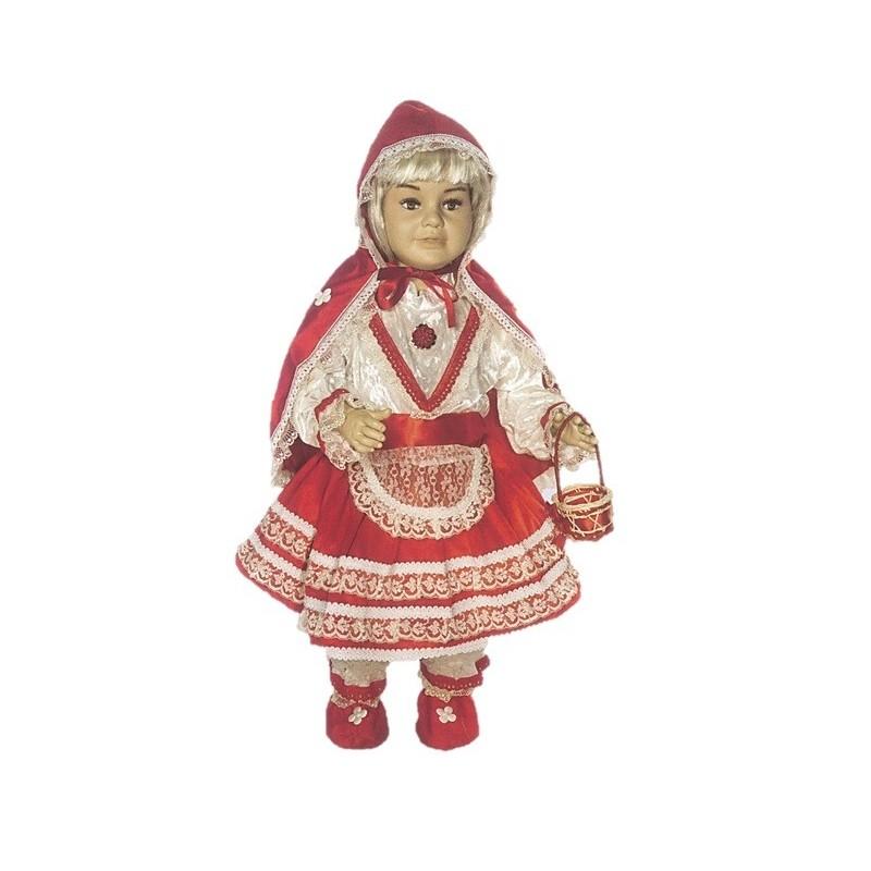 Carnevale Costume Cappuccetto Il Rosso Giullare Di Baby Lusso Art047 HIWED29Y