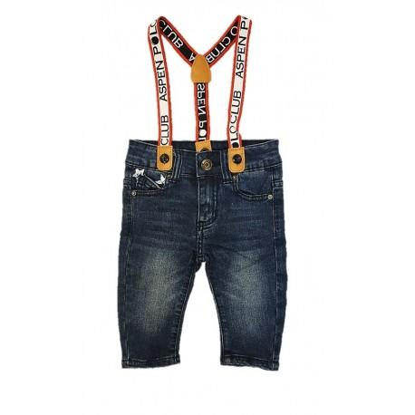 Jeans neonato ASPEN POLO CLUB art. 1075D0131
