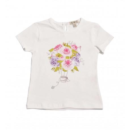 T-shirt bambina EMC art. BX 1498