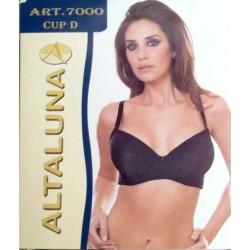 Reggiseno in microfibra jacquard con ferretto ALTALUNA art. 7000