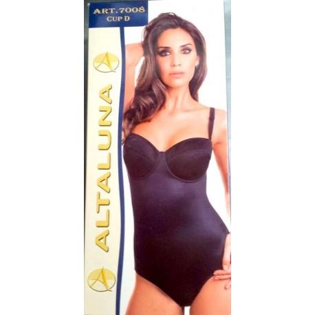 Body donna contenitivo con ferretto ALTALUNA art. 7008