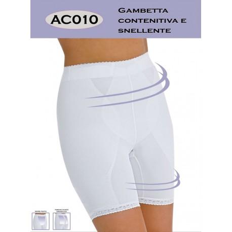 Gambetta contenitiva e snellente CUORE DI DONNA art. AC010