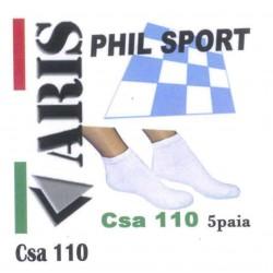 Calzino unisex 5 Paia ARIS art. CSA110