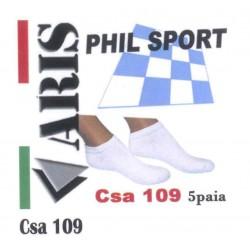 Calzino unisex 5 Paia ARIS art. CSA109