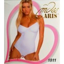 Body donna liscio in microfibra MISS ARIS art. 1811