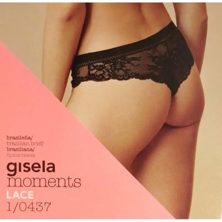 "Brasiliana in pizzo serie ""Moments Lace"" GISELA art. 1/0437"