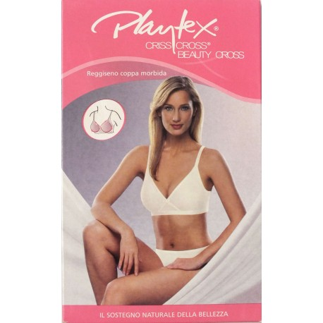 "Reggiseno coppa morbida ""Criss Cross"" PLAYTEX art. AP06598"