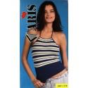 Top donna spalla stretta rigato ARIS art. 1178